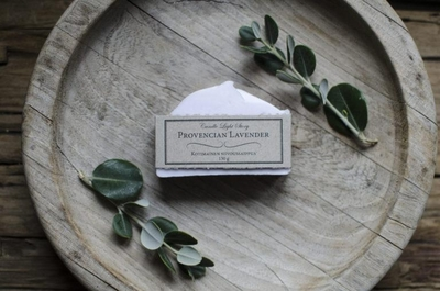 Candle Light Story Cleaning soap bar, Provencian Lavender 130g