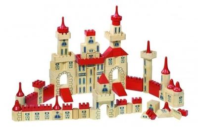 Castle building bricks, 150pcs