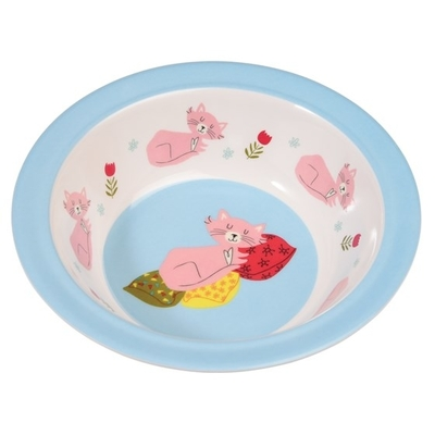 Cat's life children's deep plate