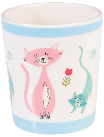 Cat's life children's mug