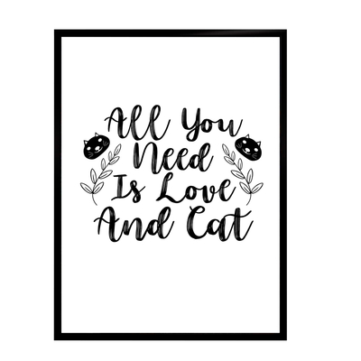 Cat's life poster - All you... starting at 7,90€