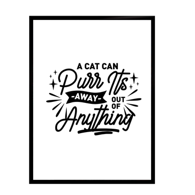 Cats life poster - A cat can... starting at 7,90€
