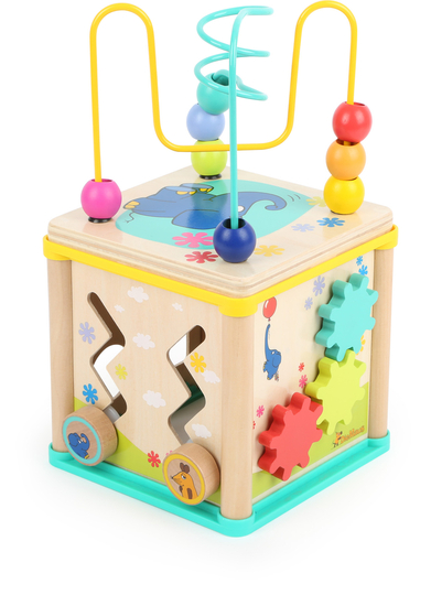 Children's activity cube