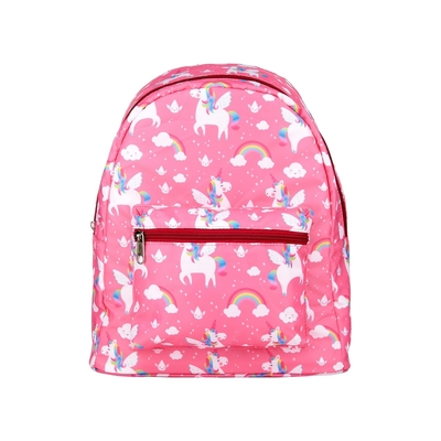 Children's backpack Rainbow unicorns, pink
