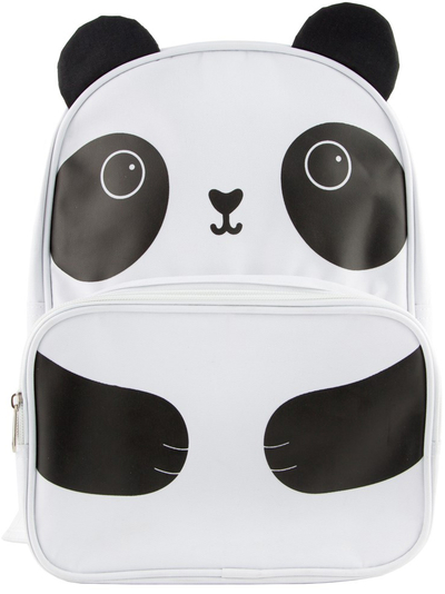 Children's club bag, Aiko panda, white