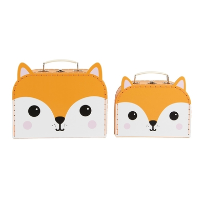 Children's suitcase 2-set, Fox