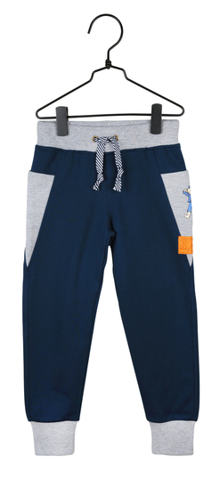 Children's trousers delightful Emil, blue