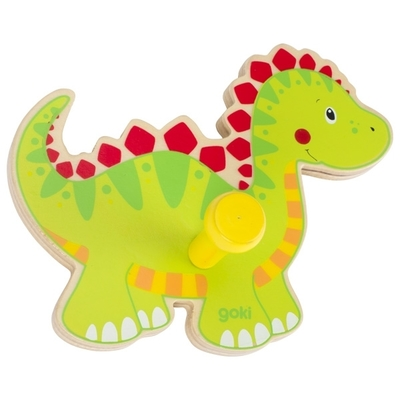 Children's wall hook, dinosaur