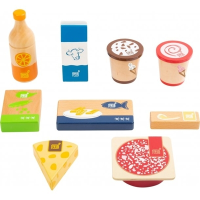 Children's wooden food products