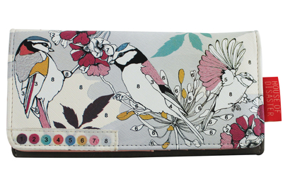 "Colour Me ""Bird"" wallet"