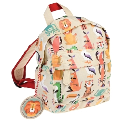 Colourful Creatures, children's club or pre-school backpack