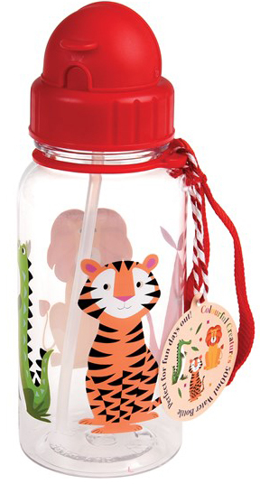 Colourful Creatures drinking bottle, 500ml