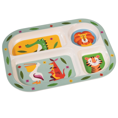 Colourful Creatures serving tray
