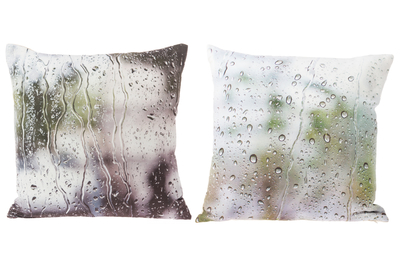 Decor cushion Summer rain, different colors