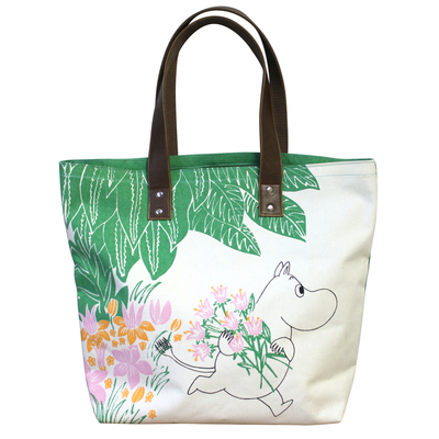 Disaster Designs Moomin shopper bag, Flowers