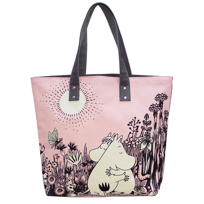 Disaster Designs Moomin shopper bag, Love