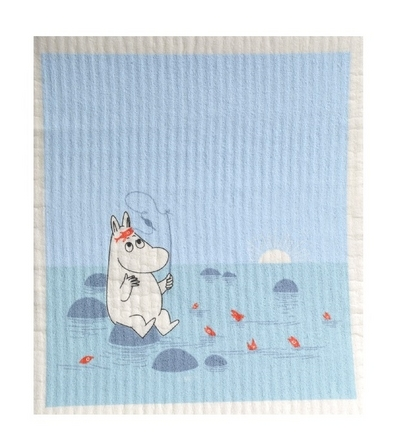 Dishcloth, Moomintroll fishing