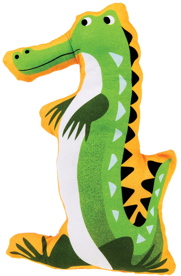Do-It-Yourself Crocodile soft toy in a gift box