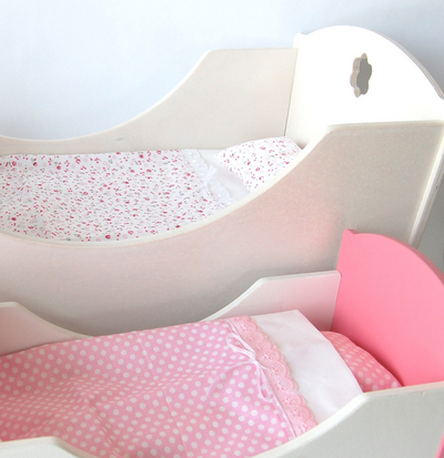 Doll Bed, 2 colors