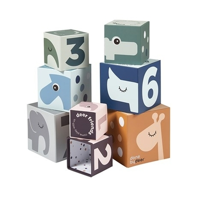 Done By Deer Deer Friends stackable blocks