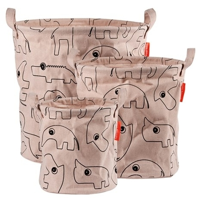 Done By Deer storage basket set of 3, powder
