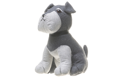 Doorstop Terrier, grey