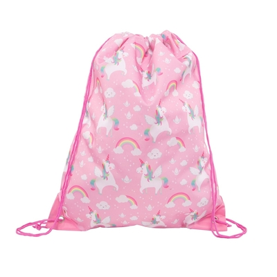 Drawstring bag, Rainbow Unicorn
