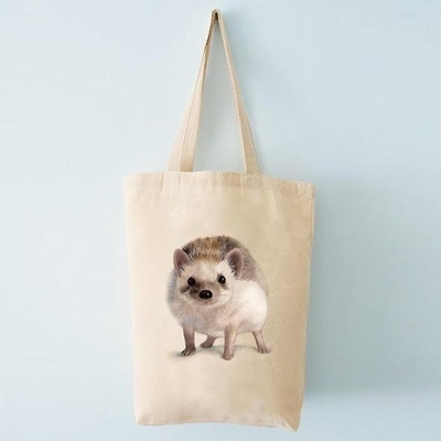 Ecological shopper bag, Henna Adel - Hedgehog