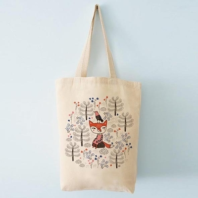 Ecological shopper bag, Mira Mallius - Fox in the Forest