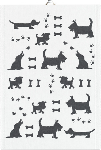 Ekelund Kitchen Towel 35x50cm Hundliv - Dog's leisure life