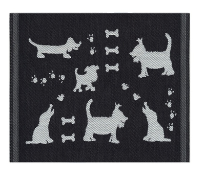 Ekelund Kitchen Towel Hundliv, fabric, 30x25