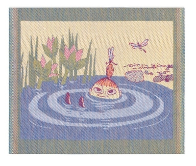 "Ekelund Moomin Kitchen Towel ""Relax, fabric, 30x25"