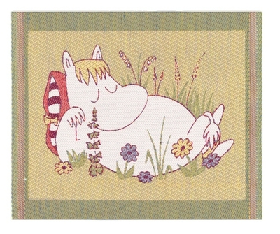 "Ekelund Moomin Kitchen Towel ""Snorkmaiden"", fabric, 30x25"