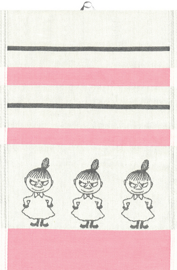 "Ekelund Moomin Towel 35x50cm ""Little My"""
