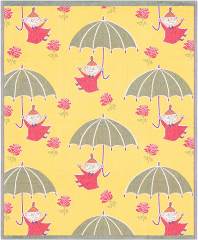 Ekelund Moomin Umbrella throw blanket 140x170cm
