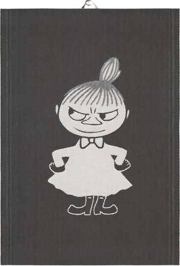 "Ekelund Moomin organic cotton hand towel ""Big Little My"" 35x50cm"