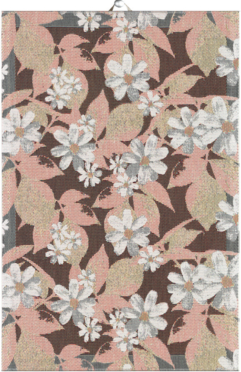 Ekelund asterrosa kitchen towel 40x60
