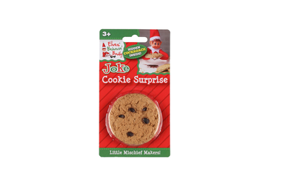 Elves Behavin´Badly prank item, a cookie surprise