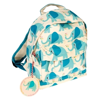 Elvis the Elephant, children's club or pre-school backpack