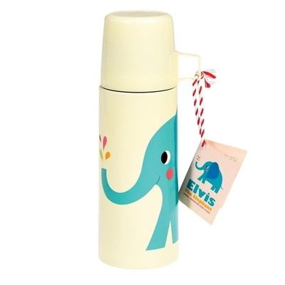Elvis the Elephant thermos with a mug, 350ml