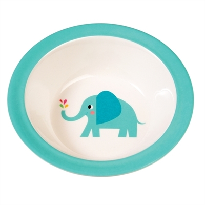 Elvis the elephant children's deep plate
