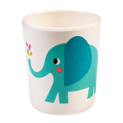 Elvis the elephant children's mug