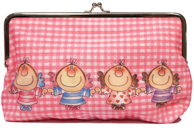 Enkelin Eväspussi makeup bag