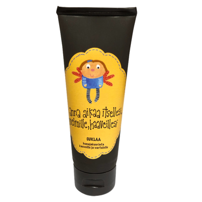 Enkelin eväspussi Mollimaija honey scrub for face and body - chocolate