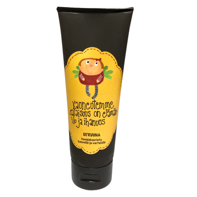 Enkelin eväspussi Mollimaija honey scrub for face and body - lemon