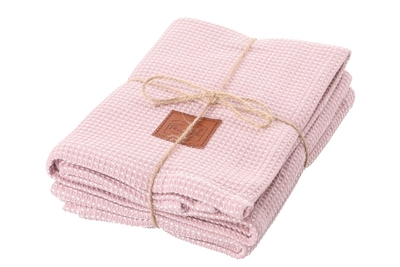 Fanni K kitchen towel bamboo 2-set, light pink