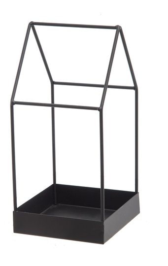 FanniK metal frame house 13cm, black