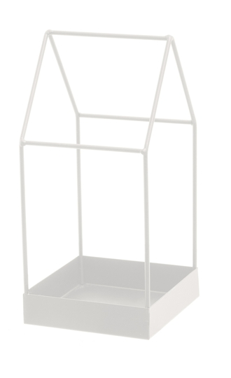 FanniK metal frame house 13cm, white
