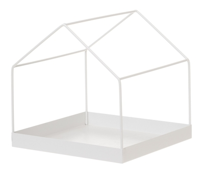 FanniK metal frame house 27cm, white