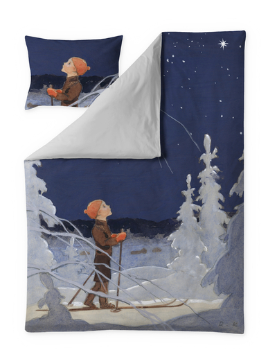 Finlayson Boy and Star Satin duvet cover set